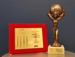 Nagroda Wiktoria Znak Jakości Przedsiębiorców 2017 dla Mirat s.c.